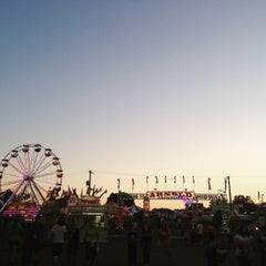 Photo taken at Ionia Fairgrounds by Katy on 7/24/2015