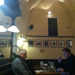 Photo taken at Malostranská Beseda by Olya D. on 10/30/2012