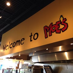 Photo taken at Moe's Southwest Grill by Brian B. on 4/5/2014