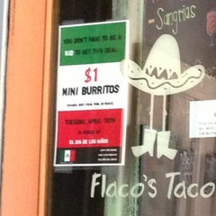 Photo taken at Flaco's Tacos by JL J. on 4/30/2013