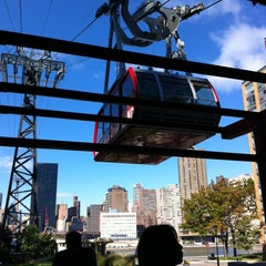 Photo taken at Roosevelt Island Tram by betsy m. on 10/16/2012