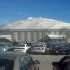 Photo taken at UNI-Dome by Chad G. on 12/2/2012