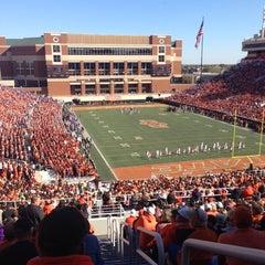 Photo taken at Boone Pickens Stadium by Scott M. on 10/27/2012