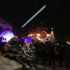 Photo taken at Station Mont Tremblant Resort by Yasha S. on 1/1/2013