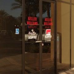 Photo taken at Keller Williams  Real Estate by Sam R. on 11/28/2012