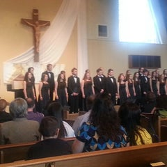 Photo taken at St. Mary's Roman Catholic Church by Kimberly C. on 5/2/2013