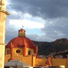 Photo taken at Basílica Colegiata de Nuestra Señora de Guanajuato by Martha B. on 9/17/2012