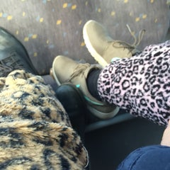 Photo taken at Bus 76 by Loïse 💥 D. on 2/13/2015