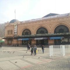 Photo taken at Centro Cultural Estación Mapocho by Luis E. on 5/26/2013