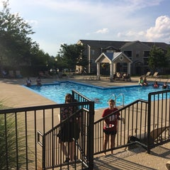 Photo taken at The Pool at Campus Corner by Kimberly L. on 8/30/2014