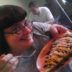 Photo taken at Chill Frozen Yogurt Crepes & Coffee by Steven R. on 2/18/2013