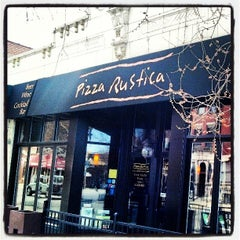 Photo taken at PR Italian Bistro & Bar - Pizza Rustica by Kovas P. on 4/20/2013