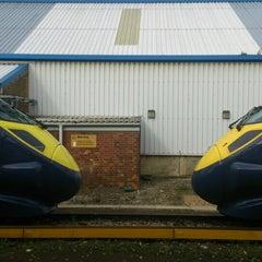 Photo taken at Ramsgate Railway Station (RAM) by Gbenga M. on 10/19/2014