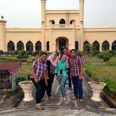 Photo taken at Istana Sultan Siak by Firman N. on 2/1/2014