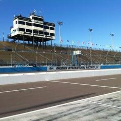 Photo taken at Phoenix International Raceway by Sergio G. on 3/1/2013