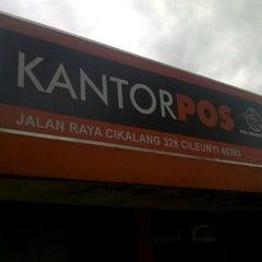 Photo taken at Kantor Pos Cikalang by Bhetz R. on 2/11/2014