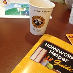 Photo taken at Einstein Bros Bagels by Lisa C. on 10/2/2012