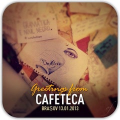 Photo taken at Cafeteca by Octavian on 1/13/2013