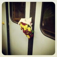Photo taken at Metro Porta Romana (M3) by Marcello F. on 1/9/2013