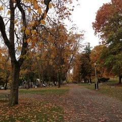 Photo taken at Wright Park by Kim J. on 11/3/2012