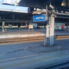 Photo taken at Stazione Venezia Mestre by Christopher M. on 10/7/2012