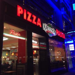 Photo taken at Abitino's Pizzeria by Purple P. on 10/21/2013