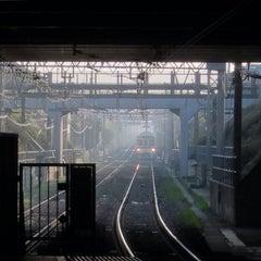 Photo taken at 柴崎駅 (Shibasaki Sta.) (KO15) by つか な. on 3/30/2015