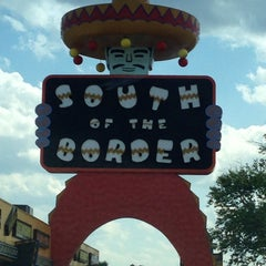 Photo taken at South of the Border by Mark H. on 5/12/2013