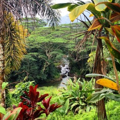 Photo taken at Kauai Hindu Monastery by @sloane on 11/19/2014