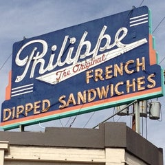 Photo taken at The Original Philippe by Mark J. on 10/6/2012