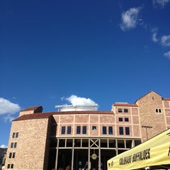 Photo taken at Franklin Field. GO BUFFS by Anna N. on 11/17/2012