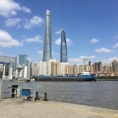 Photo taken at 复兴路渡口 Fuxing Road Ferry by Emile M. on 2/8/2015