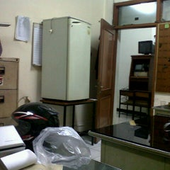Photo taken at Trisakti University Economic Faculty (Kampus F) by Dhezz L. on 1/19/2013