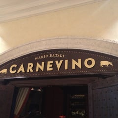 Photo taken at Carnevino by Kristen N. on 5/12/2013