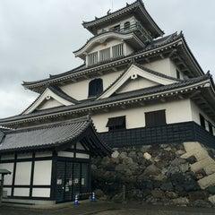 Photo taken at 長浜城 (長浜城歴史博物館) by syakenokasujiru on 1/9/2016