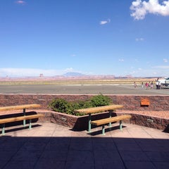 Photo taken at Page Municipal Airport (PGA) by Tobias S. on 8/15/2014