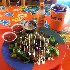 Photo taken at Blue Coast Burrito by Grant O. on 11/5/2012