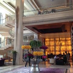 Photo taken at Siam Kempinski Hotel Bangkok by takakoji on 7/2/2013