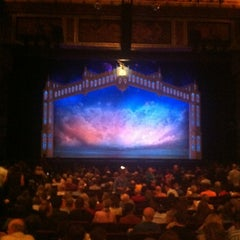 Photo taken at Pantages Theatre by Seanemac on 11/11/2012