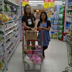 Photo taken at Carrefour by Agita A. on 4/17/2014