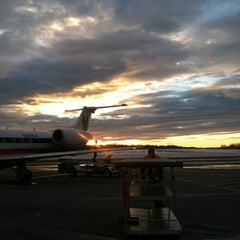 Photo taken at Westchester County Airport (HPN) by Kate H. on 11/8/2012
