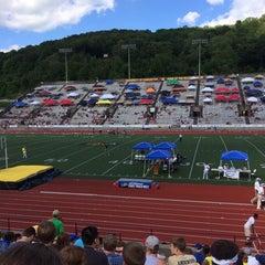 Photo taken at University of Charleston Stadium at Laidley Field by Ian on 5/23/2014