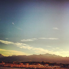 Photo taken at Forte Dei Marmi by Ale F. on 8/14/2013