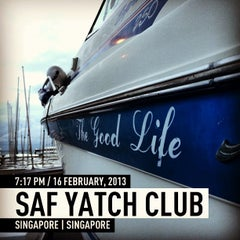 Photo taken at Nautical @ SAF Yacht Club by Clair N. on 2/16/2013