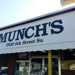 Photo taken at Munch's Restaurant by Chuck on 6/27/2013