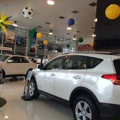 Photo taken at Sorana - Toyota by Carlos S. on 6/15/2014