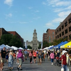 Photo taken at Downtown Des Moines Farmers Market by David L. on 9/7/2013