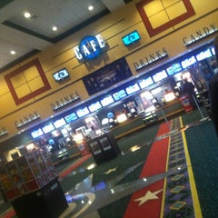 Photo taken at Regal Cinemas Providence 14 by Leah J. on 10/28/2012