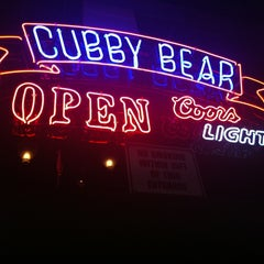 Photo taken at The Cubby Bear by Jill B. on 7/12/2013