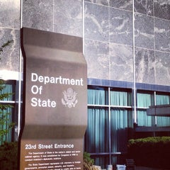 Photo taken at U.S. Department of State, Harry S Truman Building by Mark C. on 5/1/2013